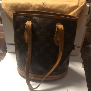 Authentic Louis Vuitton Small Bucket Bag